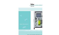 Algae Toximeter - Model II - Online Biomonitoring Analyser - Brochure