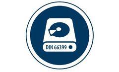 Shredding solutions for hard discs (data destruction according to din 66399)