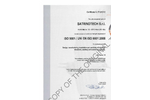 Quality Certificate UNI EN ISO 9001:2008 - SatrindTech Srl