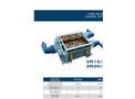 SatrindTech - Model 3R15/320 - 3R20/320 Power 320 HP - 3 Shaft Shredder - Datasheet