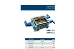 SatrindTech - Model 3R15/320 - 3R20/320 Power 320 HP - 3 Shaft Shredder - Datasheet