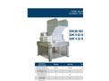 SatrindTech - Model 3K8/60 - 3K10/60 - 3K13/60 Power 60 HP - 3 Shaft Shredders - Datasheet