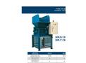 SatrindTech - Model 3K5/30 - 3K7/30 Power 30 HP - 3 Shaft Shredders - Datasheet