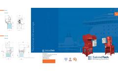 Shipboard food waste marine shredder datasheet