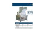 3 Shaft Shredder Datasheet 3K 8/60 - 3K 10/60 - 3K 13/60 Power 80 HP | SatrindTech Srl
