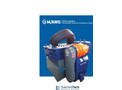 Innovative industrial shredder drive system with automatic transmission and frequency inverter
