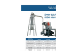 SatrindTech Duplo - Model 515-30/1015-50/1025-100 - 2 Shafts and Grinder - Datasheet