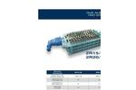 SatrindTech - Model 2R 15/150 & 2R 20/150 - 2 Shaft Shredders - Datasheet