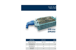SatrindTech - Model 2R 15/150 & 2R 20/150 - 2 Shaft Shredders - Datasheet