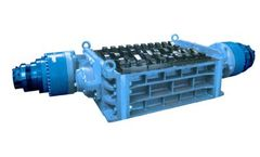 SatrindTech - Model 2R8/75 - 2R10/75 - 2R13/75 Power 75 HP - 2 Shaft Shredder