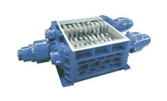 SatrindTech - Model 3R8/125 - 3R10/125 - 3R13/125 Power 125 HP - 3 Shaft Shredder