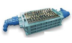 SatrindTech - Model 2R15/220 - 2R20/220 Power 220 HP - 2 Shaft Shredder