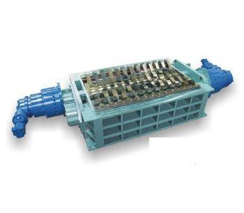 SatrindTech - Model 2R15/300 - 2R20/300 Power 300 HP - 2 Shaft Shredder