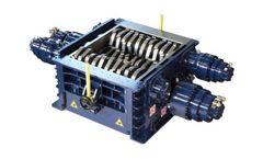 SatrindTech - Model 4R10/150 - 4R13/150 - 4R15/400 - 4R20/400 - 4 Shaft Shredders (200÷400 HP)