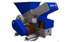 SatrindTech - Model 1K 28 - Single Shaft Shredder