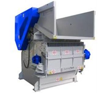 SatrindTech - Model 1K 46 - Single Shaft Shredder