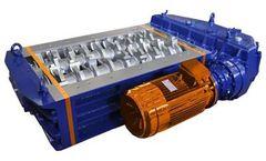 SatrindTech - Model K13/30T - 2 Shaft Waste Crusher