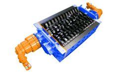SatrindTech - Model 2R 15/150 & 2R 20/150 - 2 Shaft Shredders