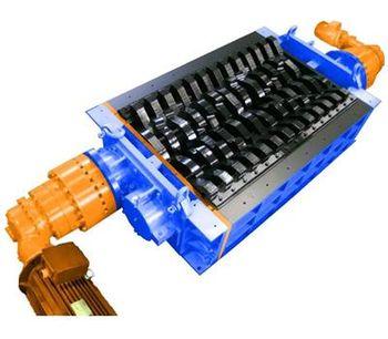 SatrindTech - Model 2R 50-100/ER - Industrial Shredders System
