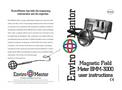 Enviromentor - Model BMM-3000 - Magnetic Field Meter Brochure