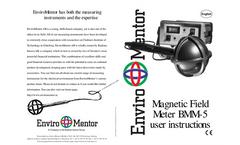 Enviromentor - Model BMM-5 - Magnetic Field Meter Brochure