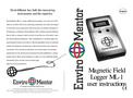 Enviromentor - Model ML-1 - Magnetic Field Logger Brochure