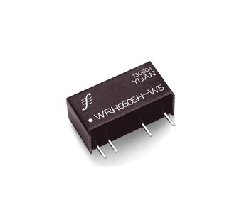 Model WRHxxxx-H - 6KV High Isolation Regulated Single Output Switching