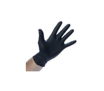 Powder Free Small Black Nitrile Gloves