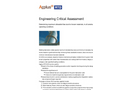 Engineering Critical Assessment - Brochure