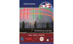 PRT - Water Welded Steel Tanks Industrial Brochure