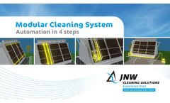 MCS - your way to fully automted air cooler cleaning - Video