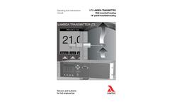 Lambda - Model LT1 (SIL 1) LS1 - Transmitter Brochure