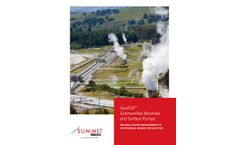 Halliburton - Model GeoESP - Geothermal Pumping Systems - Brochure