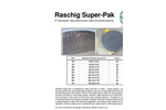 Raschig Super - Pak - Metal Structured Packing Ring - Stacked Packing - Brochure