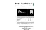 Raschig Jaeger - Pall Rings - Brochure