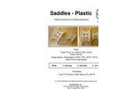 Saddles Plastic - Traditional Packing for Multiple Applications - Brochure