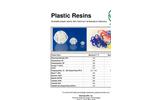 Raschig - Plastic Resins - Brochure