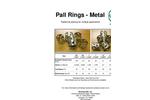 Raschig Pall Rings - Metal - Brochure
