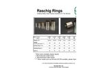 Raschig Rings Traditional Metal Tower Packing - Brochure