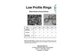 Raschig Low Profile Rings For Metal Random Dump Packing - Brochure