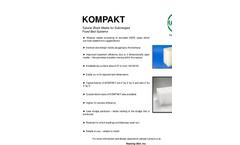 KOMPAKT Tubular Block Media for Submerged Fixed Bed Systems - Brochure