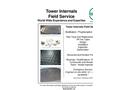 Raschig - Tower Internals Field Service - Brochure