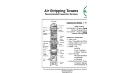 Air Stripping Towers Recommended Inspection Services - Brochure