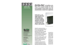 Dura-Pac XF and VF Media Sheet Media for Trickling Filters Brochure