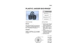 Bio-Rings - Plastic Media for Trickling Filters - Brochure