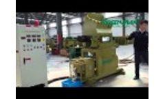 Polyethylene Foam Recycling By Melting Video