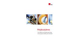Polybutylene - Flexible and Durable Plastic Pipe - Brochure