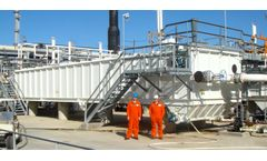 Liquid/solid separation equipment for oil sands