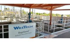 Arizona Water Treatment Plant Project of the Year Award Includes WesTech RapiSand™ Ballasted Flocculation