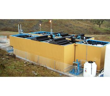 WesTech STM-Aerotor™ - Biological Nutrient Removal (BNR) Package Plant